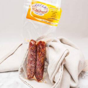 Salsiccia stagionata al pepe Cafra (4 ingredienti)