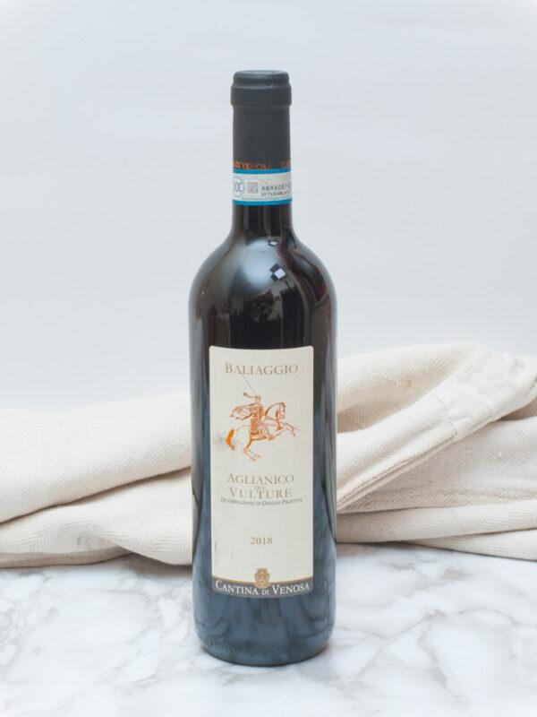 vino baliaggio aglianico venosa 1