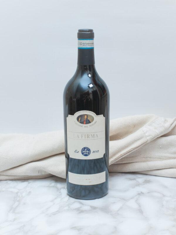 vino lafirma aglianico cantinenotaio 1